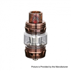 Authentic Horizon Falcon King 25.4mm Sub Ohm Tank Clearomizer 6ml/0.38, 0.18ohm - Coffee