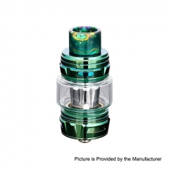Authentic Horizon Falcon King 25.4mm Sub Ohm Tank Clearomizer 6ml/0.38, 0.18ohm - Green