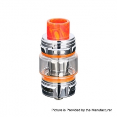 Authentic Horizon Falcon King 25.4mm Sub Ohm Tank Clearomizer 6ml/0.38, 0.18ohm - Silver