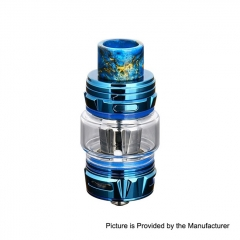Authentic Horizon Falcon King 25.4mm Sub Ohm Tank Clearomizer 6ml/0.38, 0.18ohm - Blue