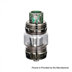 Authentic Horizon Falcon King 25.4mm Sub Ohm Tank Clearomizer 6ml/0.38, 0.18ohm - Gun Metal