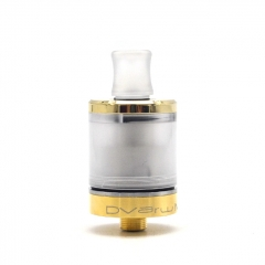 Vazzling Dvarw V2 Style 22mm 316SS MTL RTA Top Filling 2ml - Gold