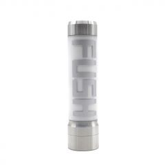 (Ships from Germany)Acrohm FUSH 18650 Single Battery Unregulated Semi-Mechanical LED Tube Mod 26mm - Silver