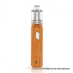 Authentic Digiflavor Helix Direct Voltage Output Box 18650 Mod w/GeekVape Lumi Tank 0.3ohm/4ml Starter Kit - Orange