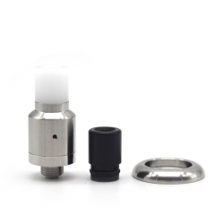 Kindbright Speed 316SS Style 14mm RDA Rebuildable Dripping Atomizer w/ BF Pin - Silver