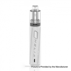 Authentic Digiflavor Helix Direct Voltage Output Box 18650 Mod w/GeekVape Lumi Tank 0.3ohm/4ml Starter Kit - White