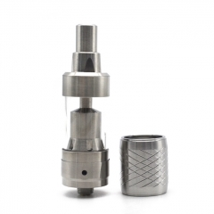 KF Mini v3 Style 19mm RTA Rebuildable Tank Atomizer 2ml - Silver