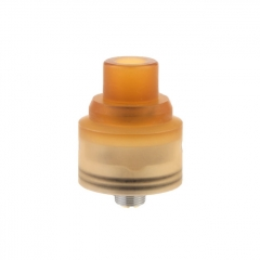 Fantasy Style 316SS 22.5mm RDA Rebuildable Dripping Atomizer w/BF Pin - Yellow