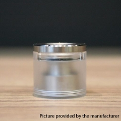 (Ships from Germany)Vazzling Steam T Style Top Fill Kit for Dvarw MTL RTA 22mm/2ml - Silver