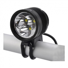 SingFire SF-544 LED Bike Light 3*Cree XM-L2 T6 / 4-mode / 2500LM / cool white / 1*battery pack(4*18650) / US