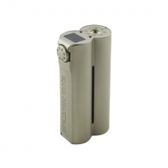 (Ships from Germany)Authentic Squid Industries Double Barrel V3 VW Variable Wattage Box Mod - Grey Champagne