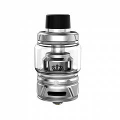 (Ships from Germany)Authentic Uwell Crown 4 IV 28mm Sub Ohm Tank Clearomizer 6ml/0.4ohm - Silver