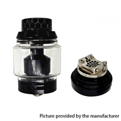 Authentic Squid Industries PeaceMaker XL 28mm RTA Tank 5ml/9ml - Black