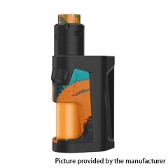 Authentic Vandy Vape Pulse Dual 220W TC VW Squonk Box Mod + Pulse V2 RDA Kit 24mm/7ml - Pigment Orange