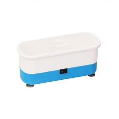 Portable Multifunctional Mini Ultrasonic Cleaner Washing Machine 300ml - Blue
