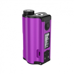 Authentic DOVPO Topside Dual 18650 200W TC VW APV Squonk Box Mod 10ml - Purple