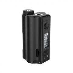 Authentic DOVPO Topside Dual 18650 200W TC VW APV Squonk Box Mod 10ml - Black