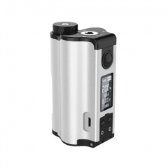 Authentic DOVPO Topside Dual 18650 200W TC VW APV Squonk Box Mod 10ml - Silver
