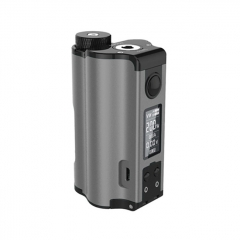 Authentic DOVPO Topside Dual 18650 200W TC VW APV Squonk Box Mod 10ml - Gun Metal
