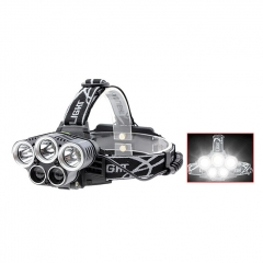 5*LED USB Rechargeable LED Headlamp