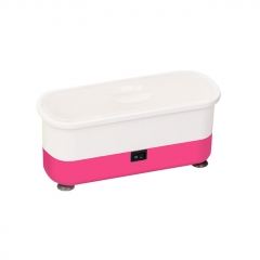 Portable Multifunctional Mini Ultrasonic Cleaner Washing Machine 300ml - Pink