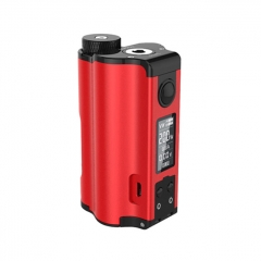 Authentic DOVPO Topside Dual 18650 200W TC VW APV Squonk Box Mod 10ml - Red