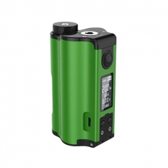 Authentic DOVPO Topside Dual 18650 200W TC VW APV Squonk Box Mod 10ml - Green