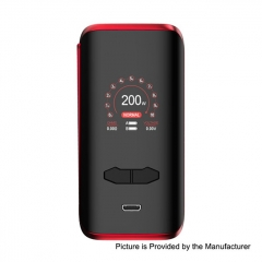 Authentic Augvape VX200 200W TC VV VW Variable Wattage Box Mod - Red