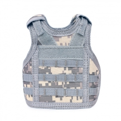 Outdoor Military Decoration Mini Vest for Bottles - ACU