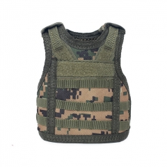 Outdoor Military Decoration Mini Vest for Bottles - Jungle