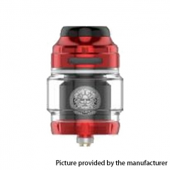 Authentic Zeus X 25mm RTA Rebuilable Tank Atomizer 4.5ml/5.5ml - Red