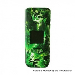 Authentic Hugo Vapor Rader ECO 200W VV VW Variable Wattage Box Mod - Green Storm