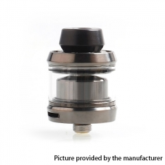 Gear Style 24mm RTA Rebuildable Tank Atomizer 3.5ml - Gun Metal