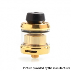 Gear Style 24mm RTA Rebuildable Tank Atomizer 3.5ml - Gold