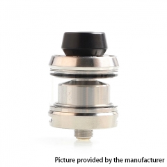 Gear Style 24mm RTA Rebuildable Tank Atomizer 3.5ml - Silver