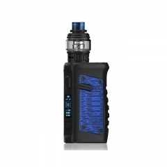 Authentic Vandy Vape Jackaroo 100W 18650/20700/21700 TC VW Variable Wattage Box Mod w/Tank 5ml/3.5ml Kit - Blue Python