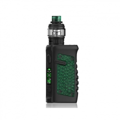 Authentic Vandy Vape Jackaroo 100W 18650/20700/21700 TC VW Variable Wattage Box Mod w/Tank 5ml/3.5ml Kit - Green Anaconda
