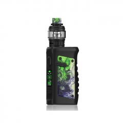 Authentic Vandy Vape Jackaroo 100W 18650/20700/21700 TC VW Variable Wattage Box Mod w/Tank 5ml/3.5ml Kit - Green Jade