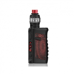 Authentic Vandy Vape Jackaroo 100W 18650/20700/21700 TC VW Variable Wattage Box Mod w/Tank 5ml/3.5ml Kit - Red Ridge