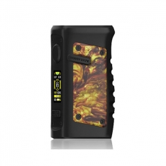 Authentic Vandy Vape Jackaroo 100W 18650/20700/21700 TC VW Variable Wattage Box Mod - Gold Agate