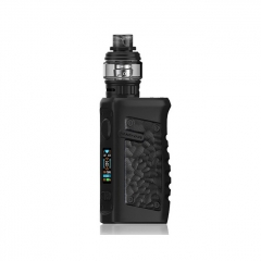 Authentic Vandy Vape Jackaroo 100W 18650/20700/21700 TC VW Variable Wattage Box Mod w/Tank 5ml/3.5ml Kit - Obsidian Black