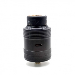 Authentic CTHULHU mjolnir Mjölnir 24mm RDA Rebuildable Dripping Atomizer w/BF Pin - Black