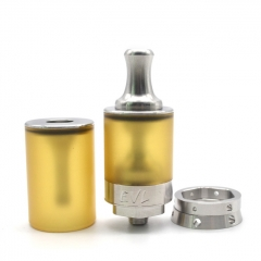 Vazzling EVL Reaper V3 Style 22mm MTL RTA Rebuildable Tank Atomizer 2ml w/AFC Rings/Extra Tank - Silver