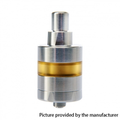 Vazzling KF Lite Style 24mm RTA Rebuildable Tank Atomizer 3.5ml - Silver