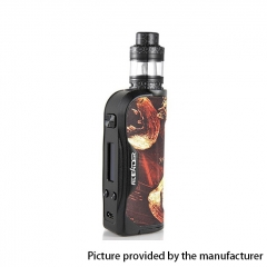 Authentic Aleader Orbit 100W 18650/20700/21700 TC VW APV Box Mod w/2ml Clearomizer Kit - Black