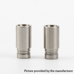 510 Style Replacement Drip Tip 2pcs - Silver