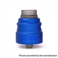 Reload S Style 24mm RDA Rebuildable Dripping Atomizer w/BF Pin - Blue