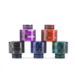 510 Stainless Honeycom Drip Tip 1pc - Random