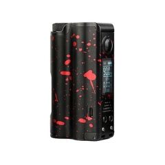 Authentic Dovpo Topside 18650/21700 90W Temperature Control Squonk Mod - Black Red