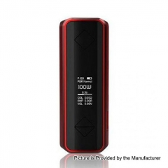 Authentic Hotcig G100 100W 18650/20700/21700 TC VW Variable Wattage Box Mod - Red